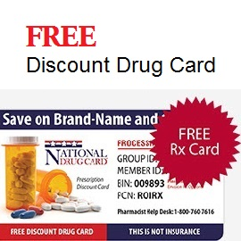 Free Discount Drug Card